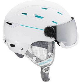 Rossignol Allspeed Visor Impacts Casque Femme, white